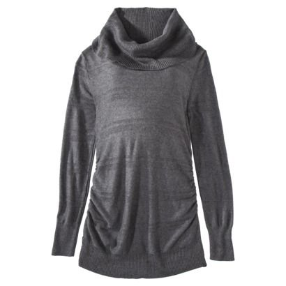 Liz Lange® for Target® Maternity Long-Sleeve Cowl-Neck Sweater- Assorted Colors $14.99