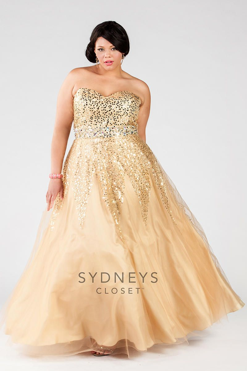 87401b14ec Sydney s Closet Plus Size Prom SC7116 Sydney s Closet Plus Size Prom  Elaine s Wedding Center