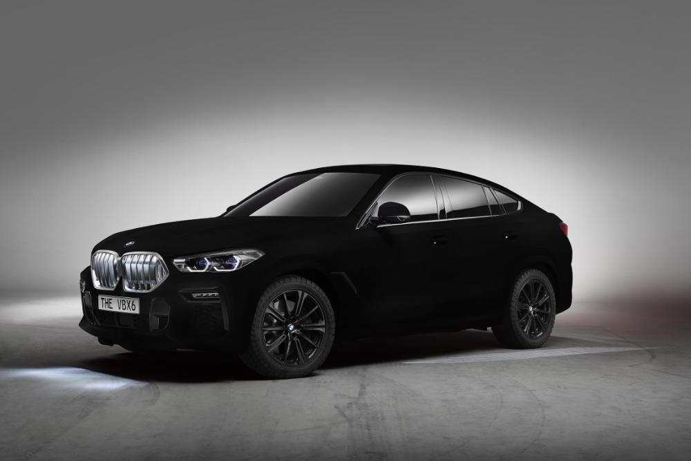 Vantablack Bmw X6 The Blackest Car That S Ever Existed Bmw X6 Bmw E36 Drift Black Car