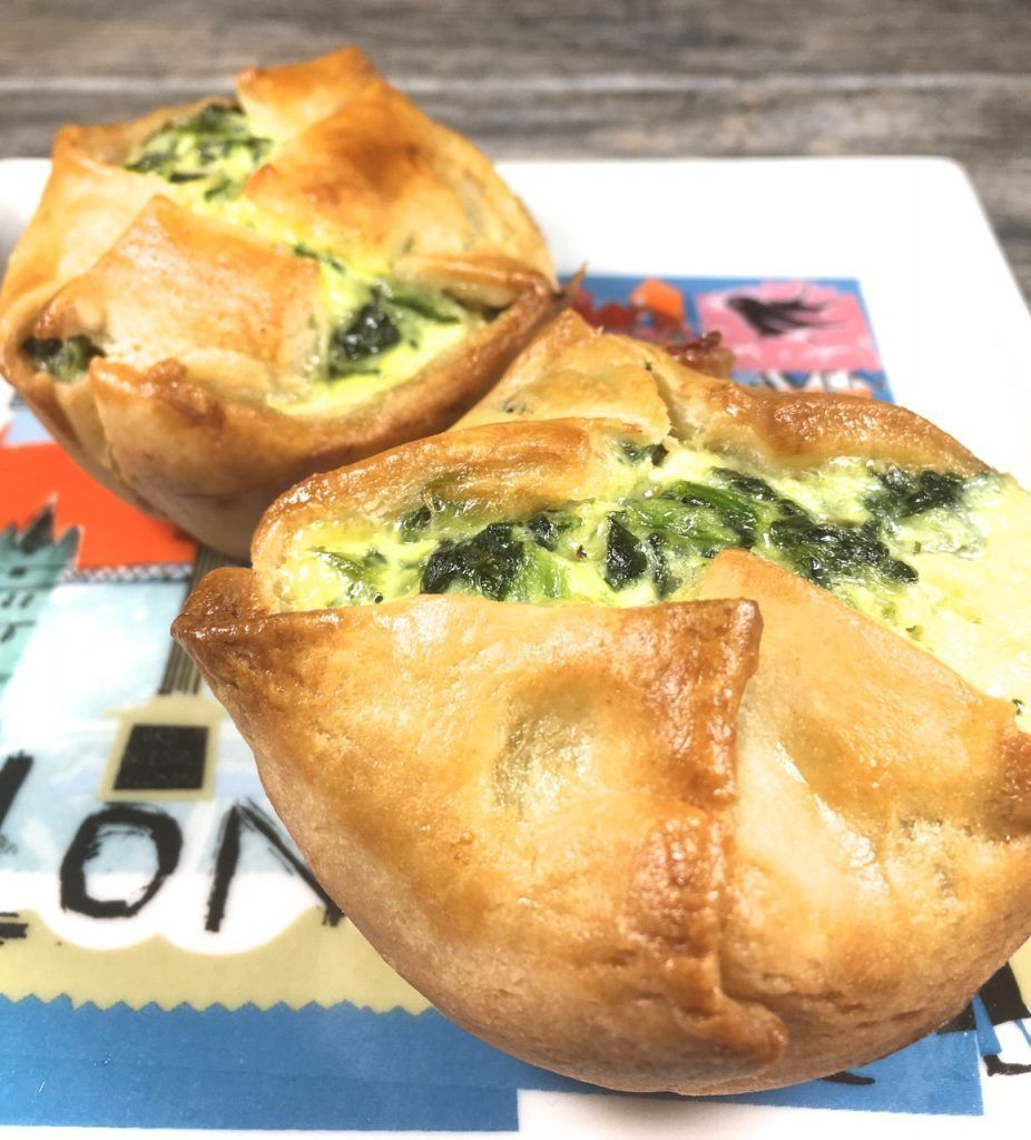 Gluten-Free Spinach Goat Feta Puff Pastry - The Weekly Menu