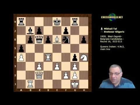 Mikhail Tal Vs Svetozar Gligoric Notable Game Bled Zagreb Belgrade C Chess Strategies Games Zagreb