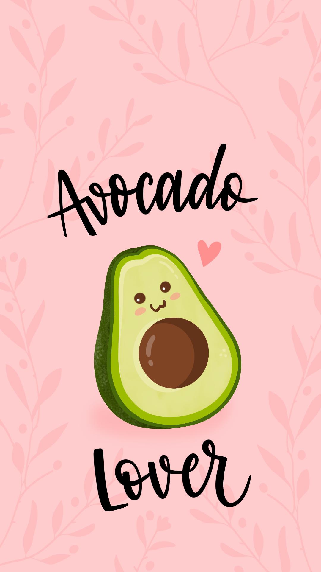 Avocado Avocado Lovers Food Food Lovers Pastel Colors Wallpaper Screensaver Iphone Wallpaper Wallpaper Iphone Cute Pink Wallpaper Iphone Ipod Wallpaper