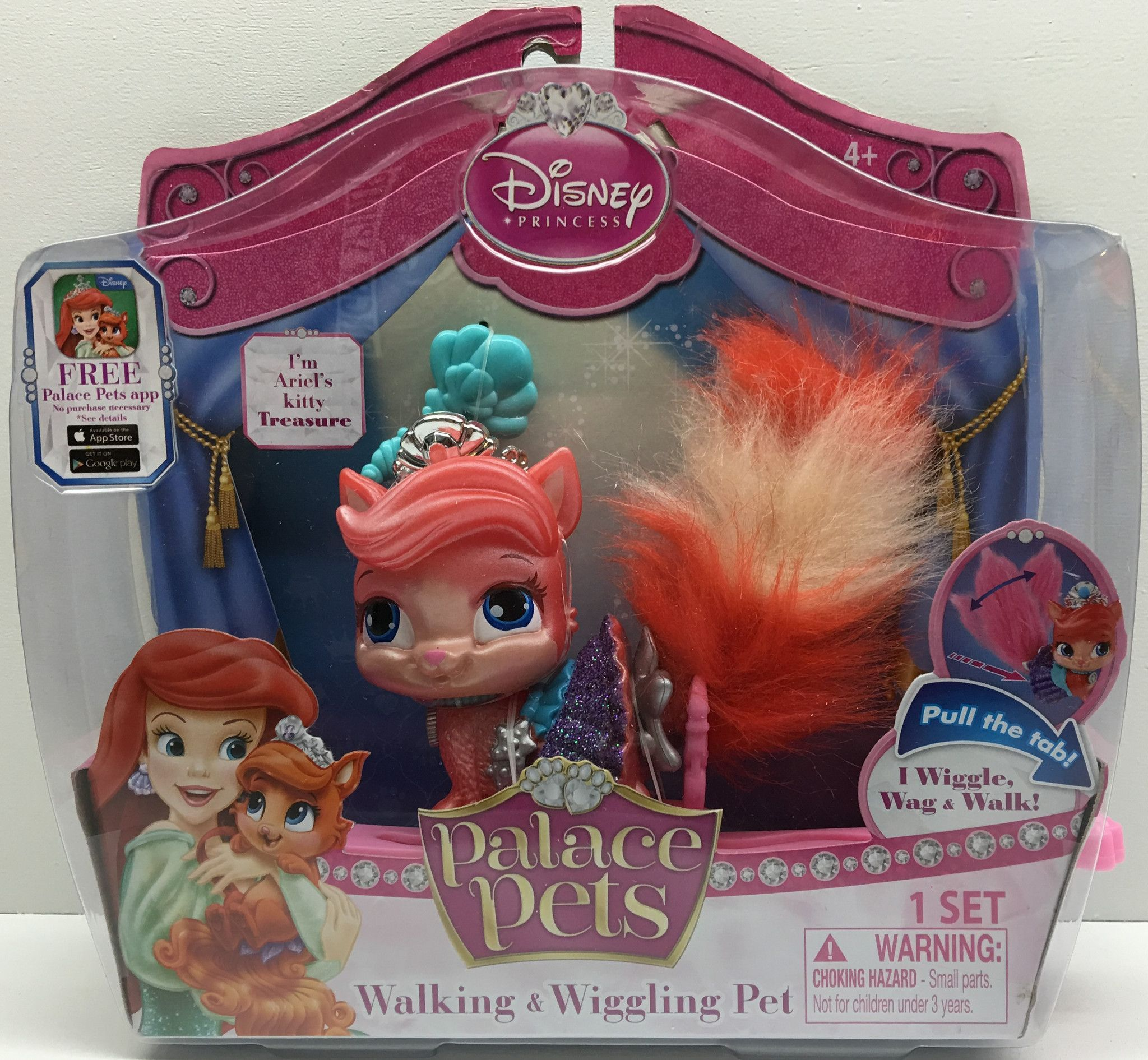 Tas032412 2014 Disney Princess Palace Pets Ariel S Kitty