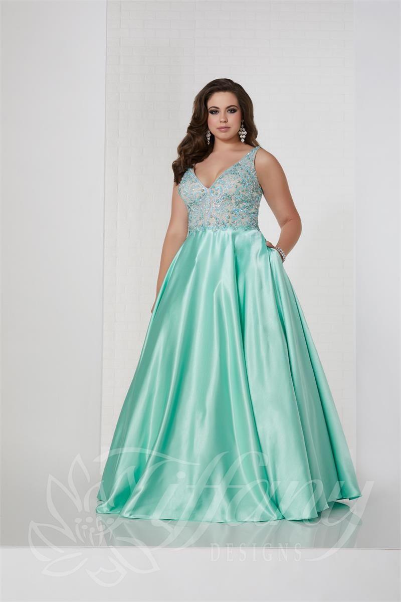543ec2073487 Tiffany 16315 - Formal Approach Prom Dress | Tiffany Designs Dresses ...
