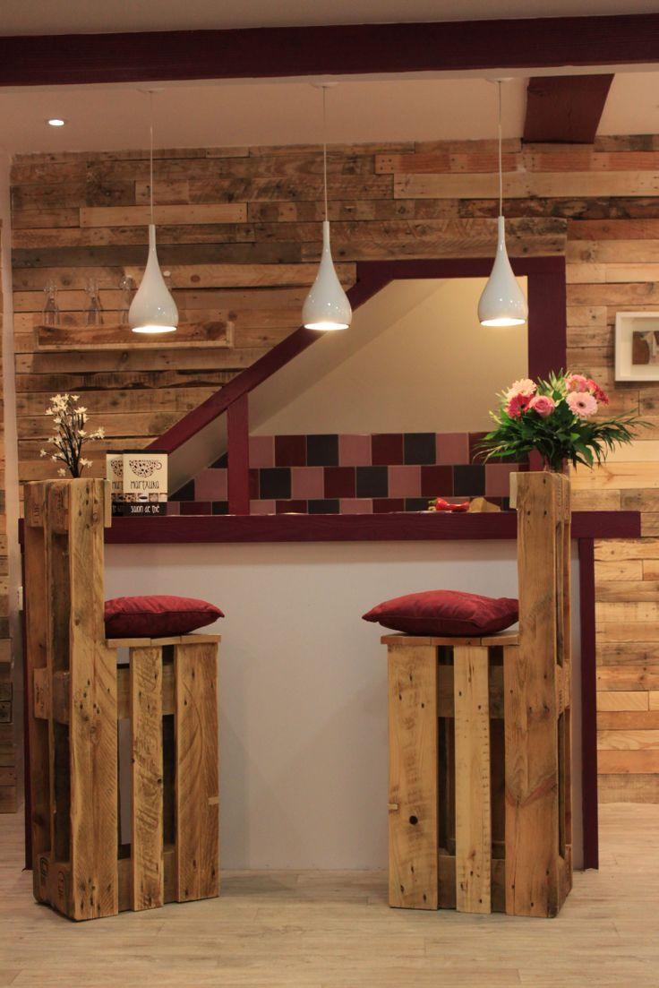 Ideas Para Muebles 5 Ideas De Sillas De Bar De Palets Bricolage Cocinas Con