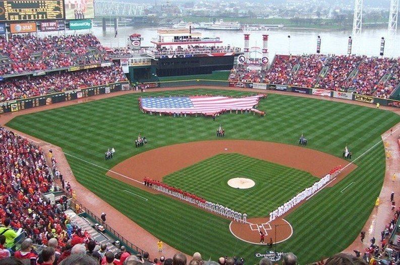 5 Great Baseball Songs To Celebrate Opening Day Reds Opening Day Baseball Cincinnati Reds