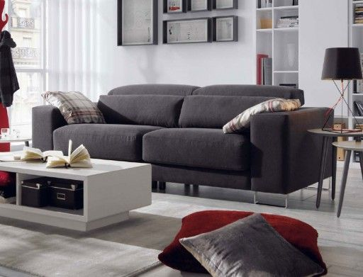 Decorar salones peque os sof tuit de kibuc wnetrza for Kibuc sofas