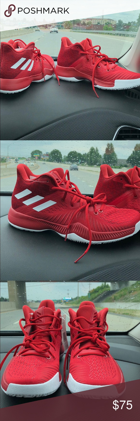 fd1a89b5c Adidas James Harden Mad Bounce Men Basketball Shoe Authentic DEADSTOCK Adidas  James Harden Mad Bounce Mens