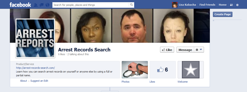 Search arrest records on anyone by using a full or partial ...