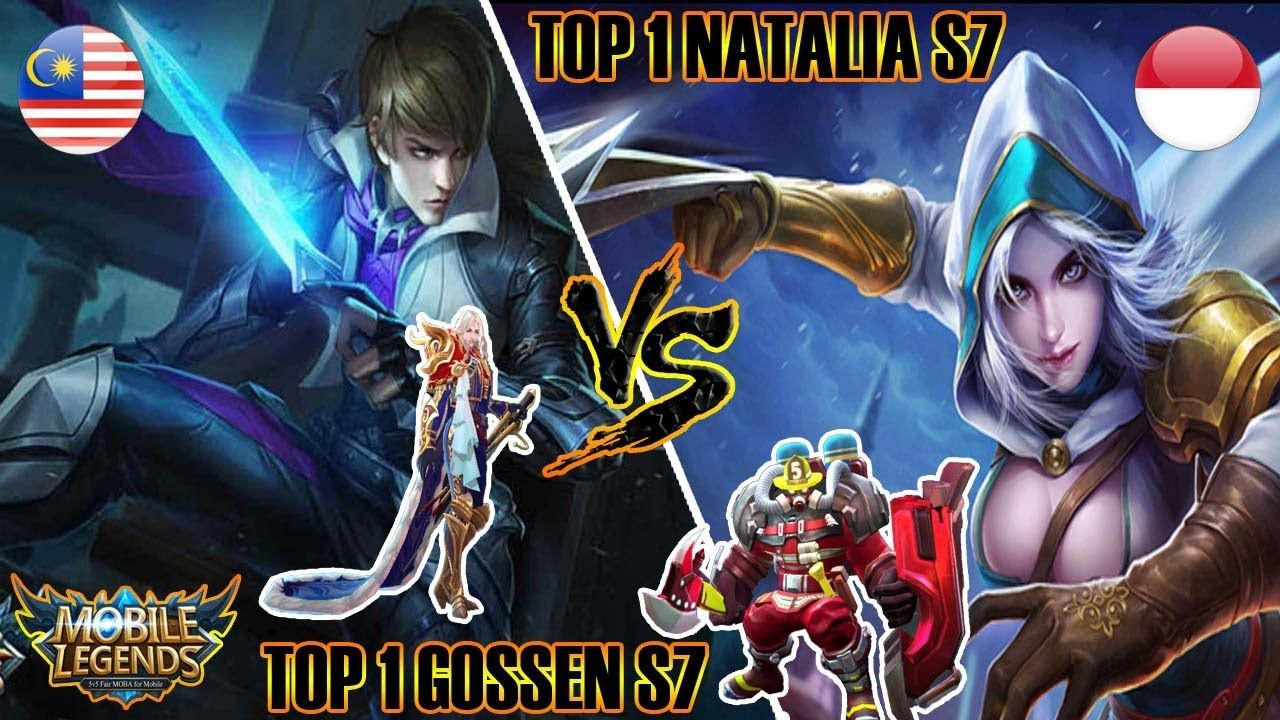 Top 1 Global Natalia S8 Lg Syexy Vs Top 1 Global Gossen S7 F E E K Z Mobile Legends Natalia Anime