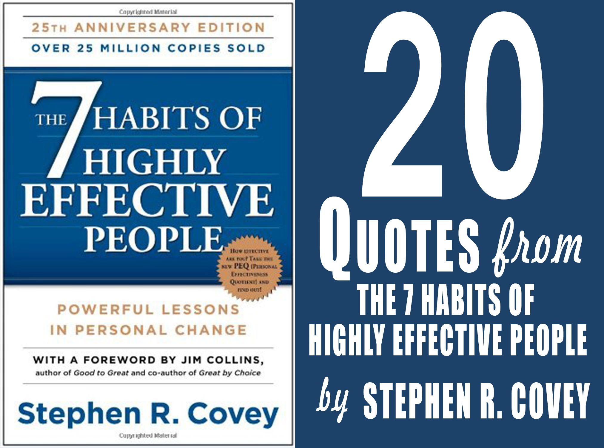 20 Inspirational Quotes From The 7 Habits Of Highly Effective People Powerful Lessons In