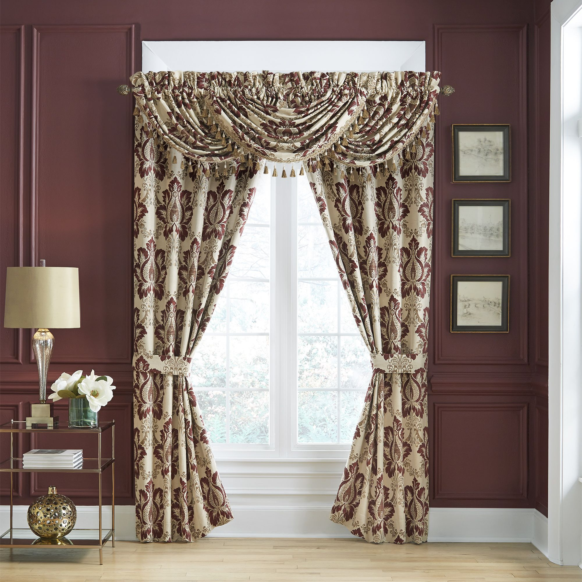 Esmeralda Bedding Collection In 2020 Drapery Panels Panel Curtains Curtains