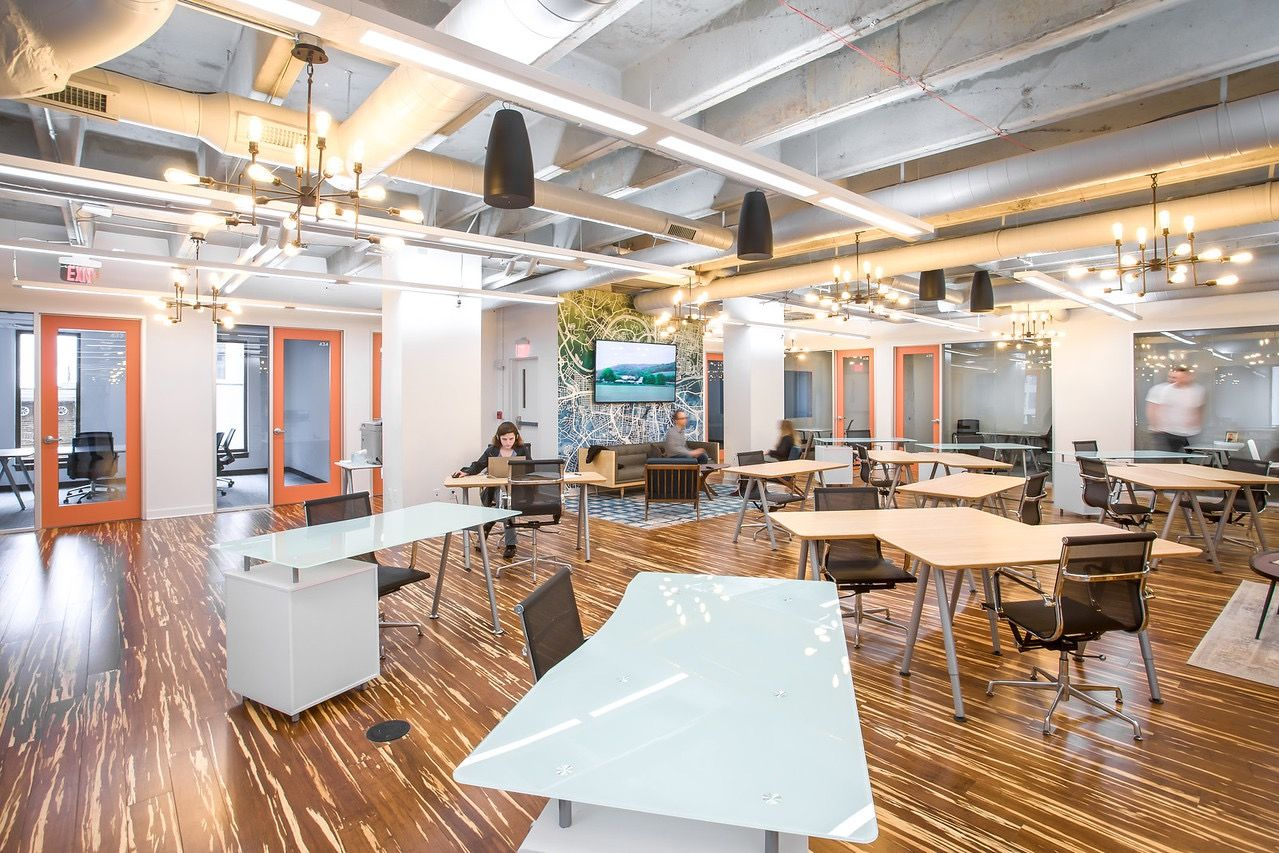A Tour of Level Office's Nashville Coworking Space (With