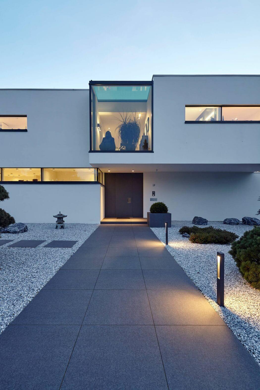 Falke Architekten Köln villa in dormagen by falke architekten architecture