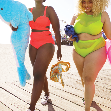 91f1e10e7e6 You can't help but smile in the new GabiFresh collection.  #GabiFreshxSwimsuitsForAll