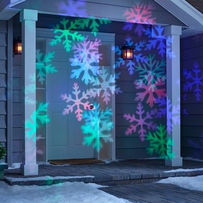 Philips Christmas Led Projector Motion Snowflake Patterns Led