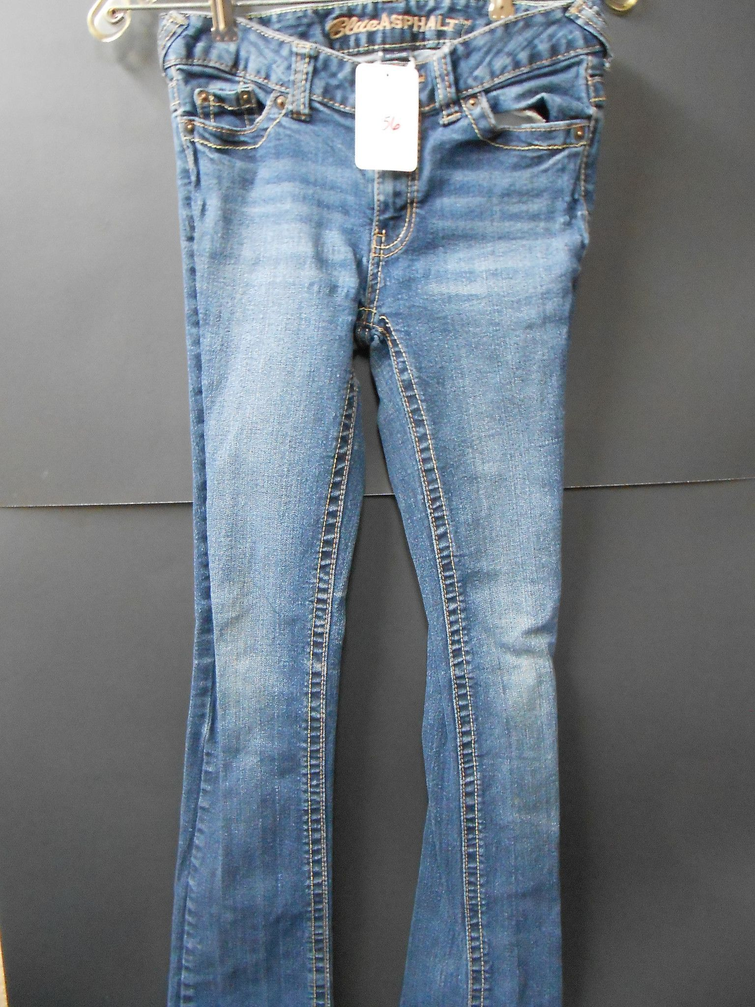 Blue Asphalt Size XS Girl's Pants
