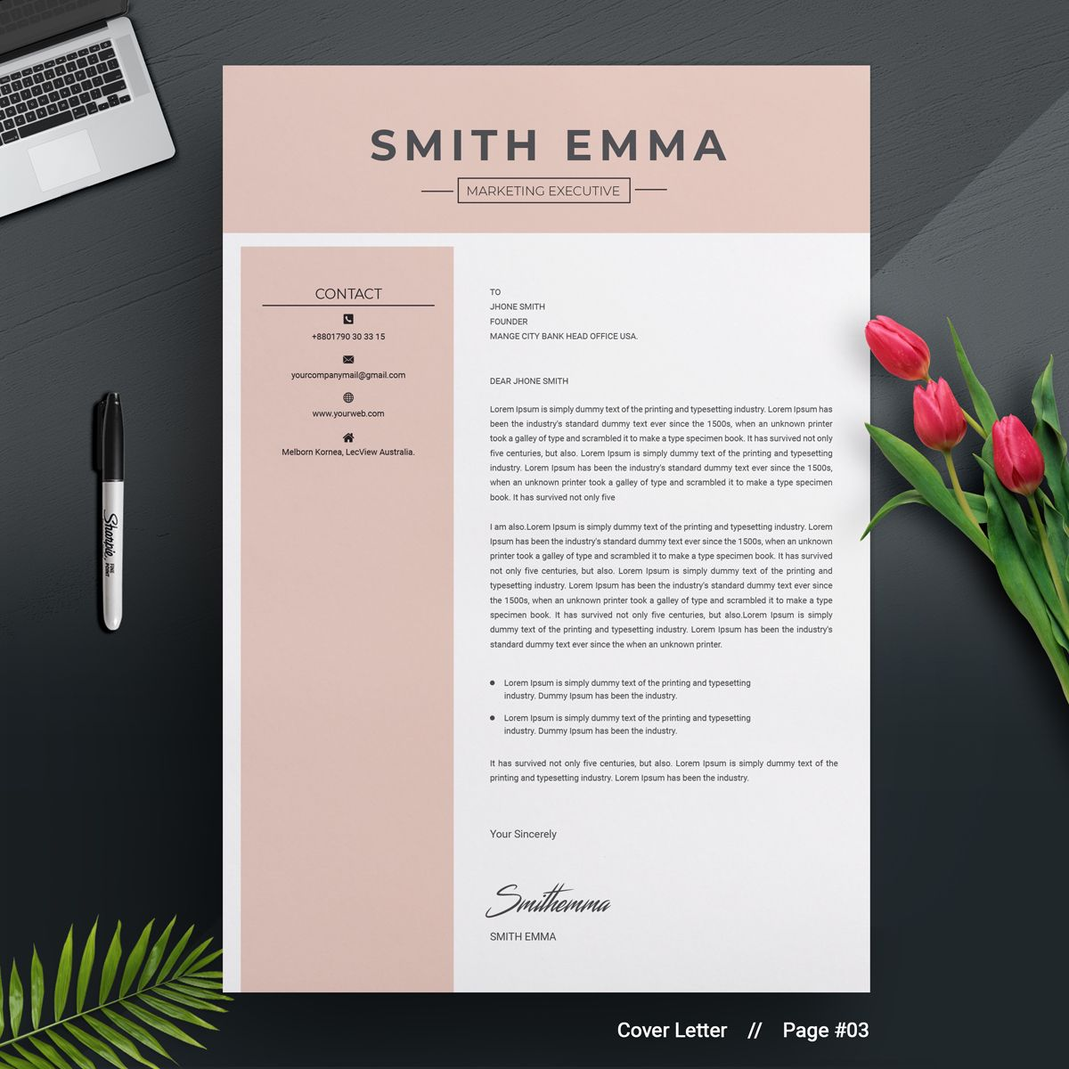 smith emma resume template 71441 (with images) personal hobbies and interests examples marketing specialist pdf 2019 templates word