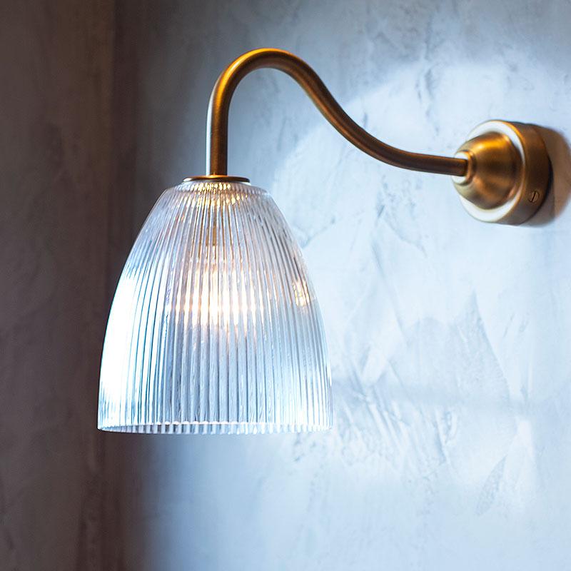 Mia Prismatic Glass Small Bathroom Wall Light In 2020 Bathroom Wall Lights Bedside Wall Lights Wall Lights