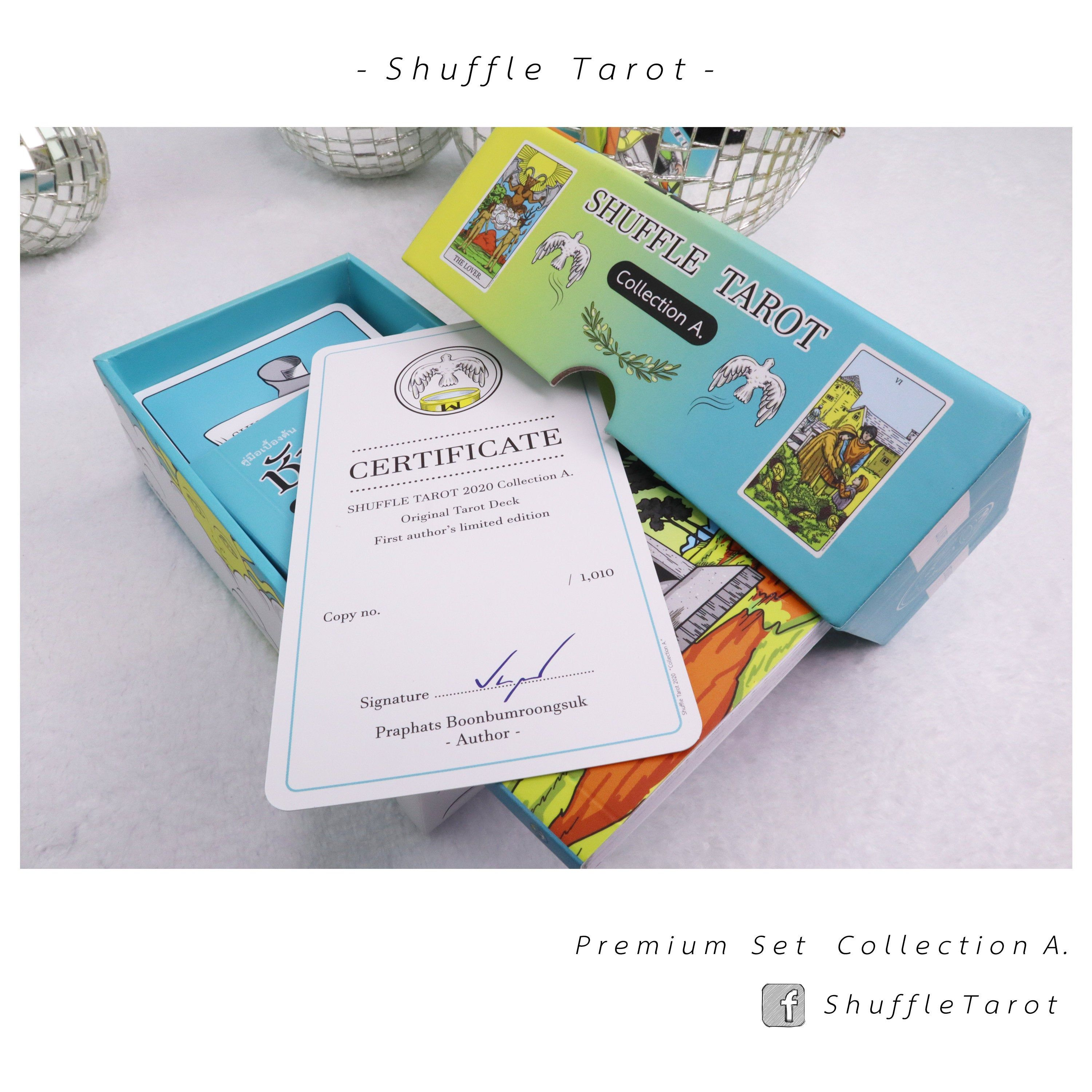 Collection a premium ver shuffle tarot deck limited