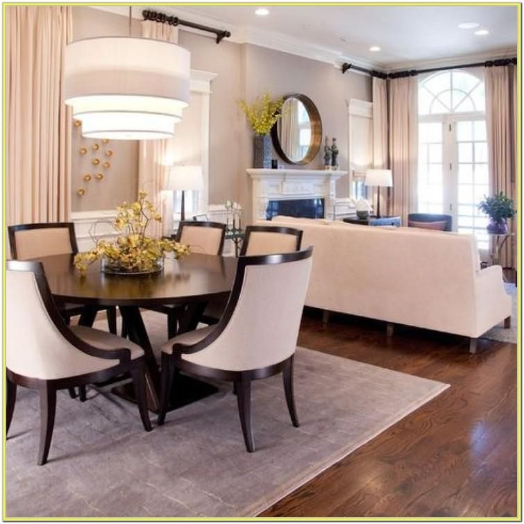 Decorate Living Room And Dining Room Combo: Decorating Ideas Living Dining Room Combo By Jerry Oliver