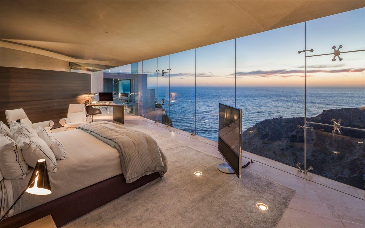 Epic Bedroom The Razor House In La Jolla California 1280x800