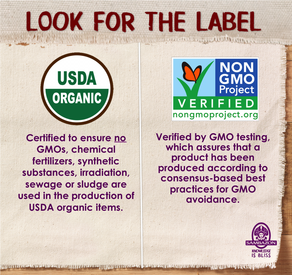 """gmo food labels This past june, connecticut and maine became the first states to pass bills requiring labels on all foods made from genetically modified organisms (gmos) in november 2012 california voters rejected the similar proposition 37 by a narrow majority of 514 percent """"all we want is a simple label/for the food."""