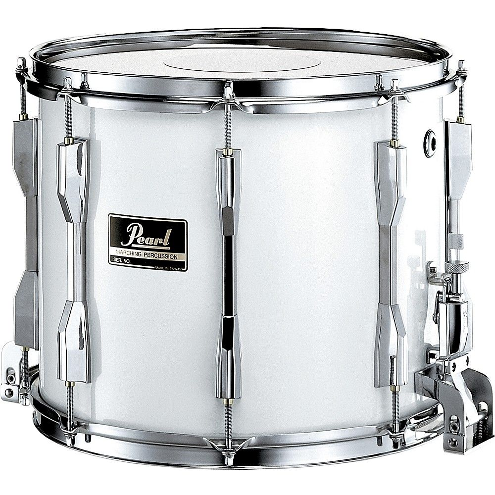 Competitor traditional snare drum 14 x 12 in white