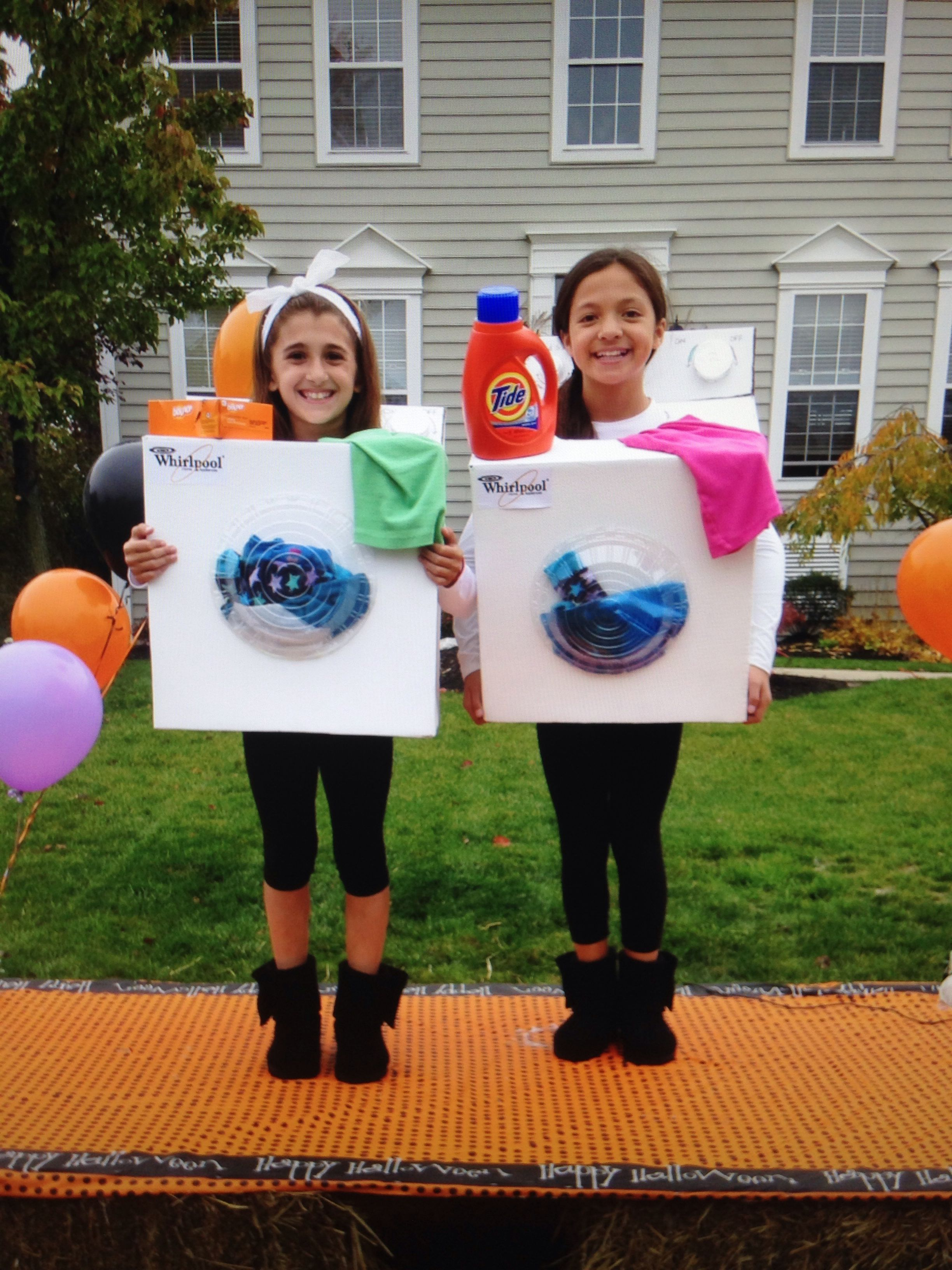 My Costume This Year Washer And Dryer Cute