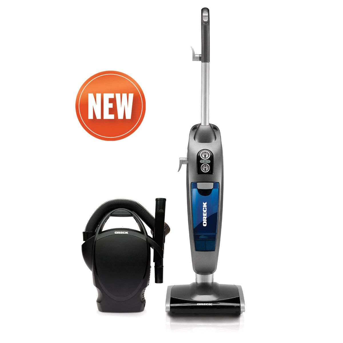 VersaVac, Oreck's First Bagless Vacuum and Steam Mop with