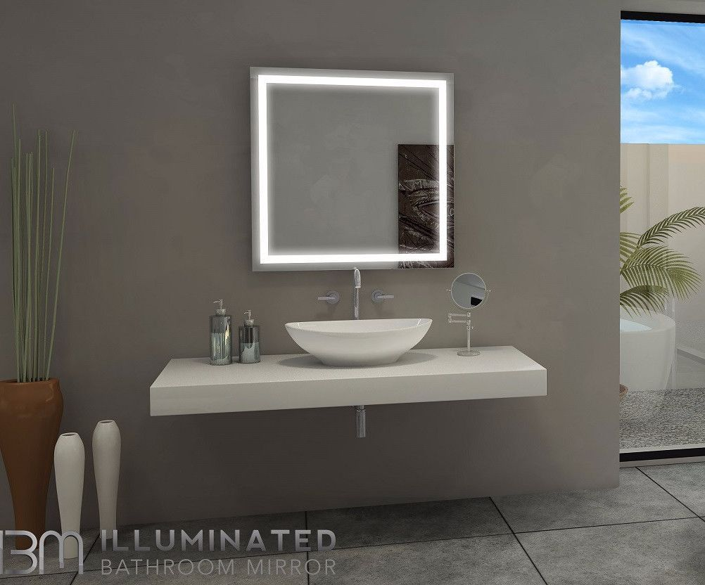 Dimmable lighted mirror harmony 32 x 32 shape lighted mirror dimmable lighted mirror harmony 32 x 32 xflitez Images
