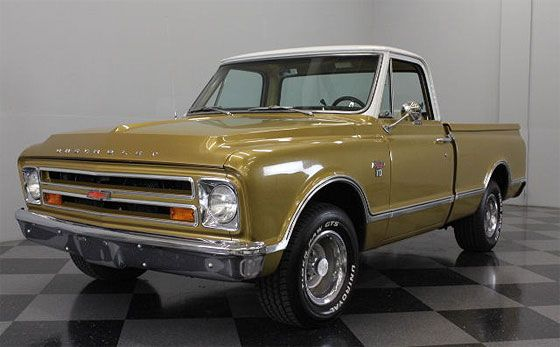 1967 Chevy C10 Custom Sport Truck Classic Chevy Trucks Chevy