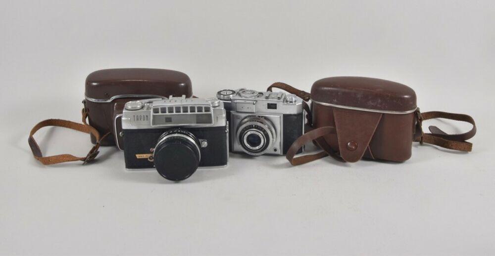 Ebay Sponsored F02a20 2x Alte Fotokamera Zeiss Ikon Taron