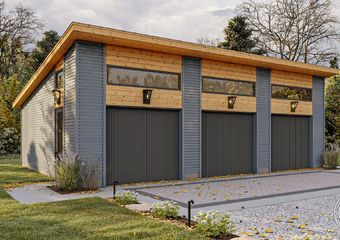 Modern Style Garage Plan