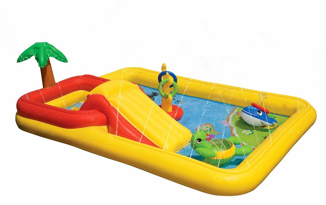 Intex Ocean Inflatable Play Center 57454 With Images Play