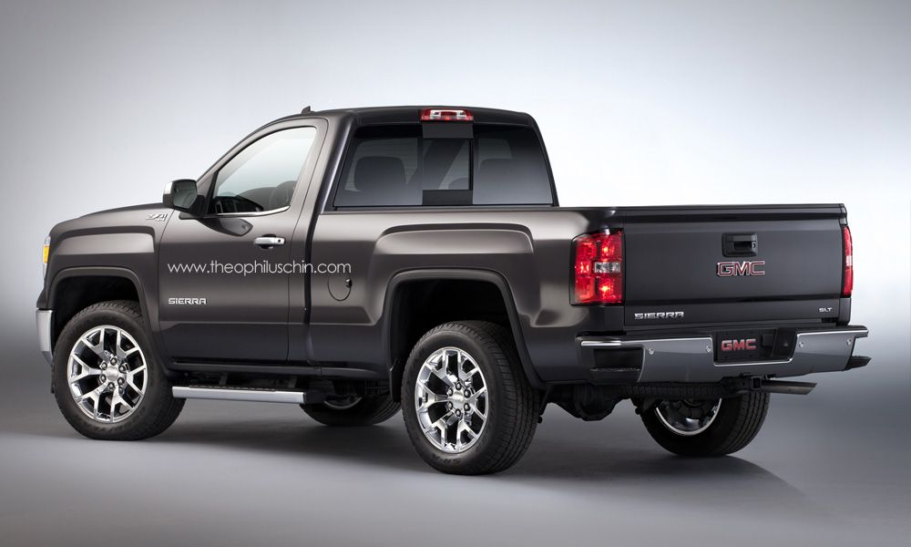 2014 gmc sierra regular cab rendering autoevolution for Gmc motors near me