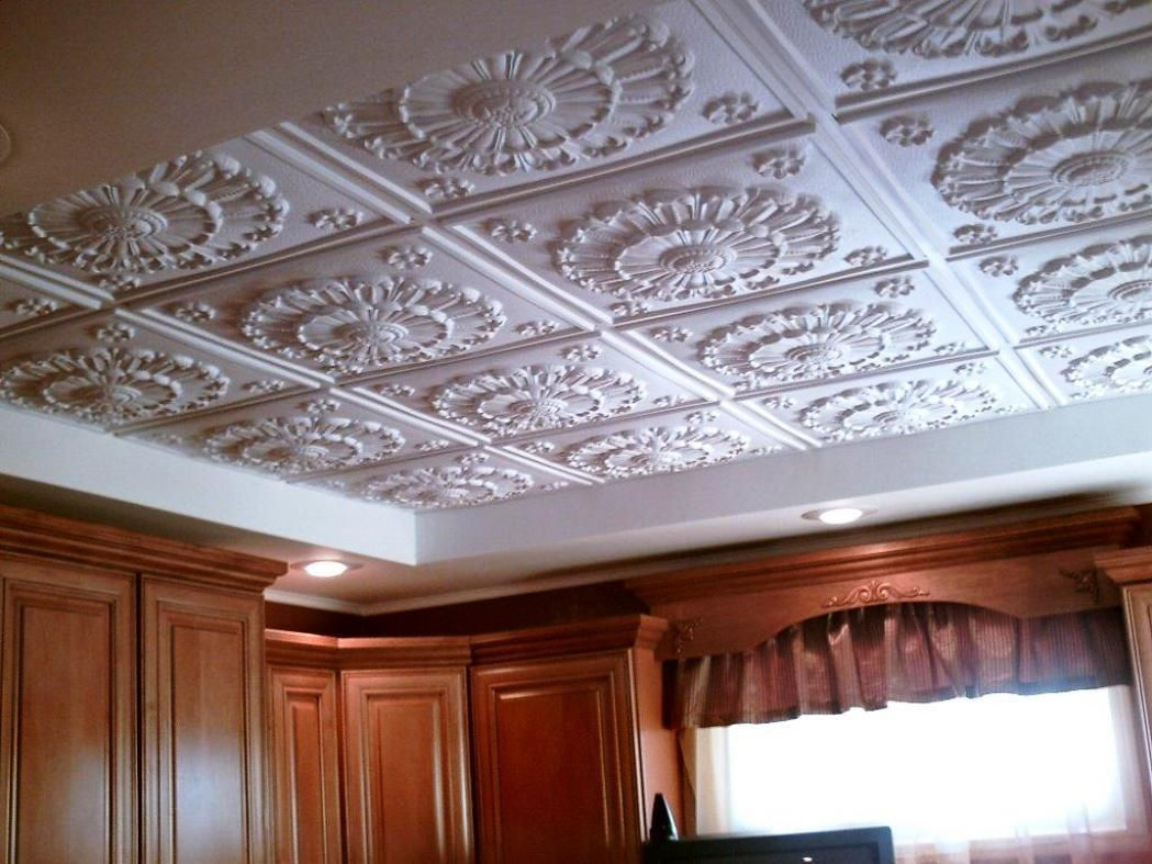 How To Install Decorative Ceiling Tiles Decorative Ceiling Tiles Images  Httpcreativechairsandtables
