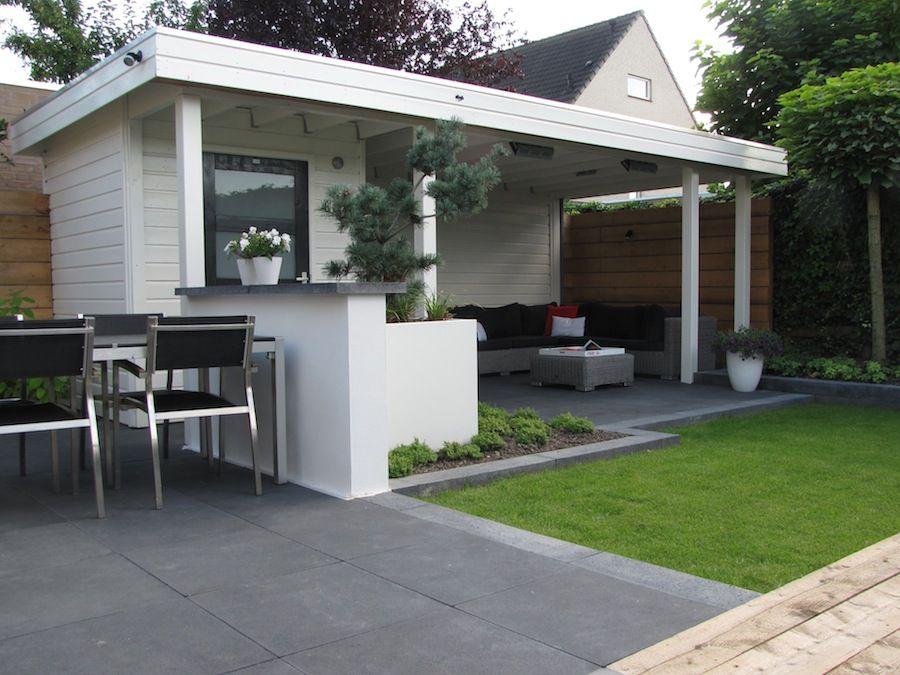 Jan de boer tuinhuizen fotoboek voorbeeld van grijze tegels en