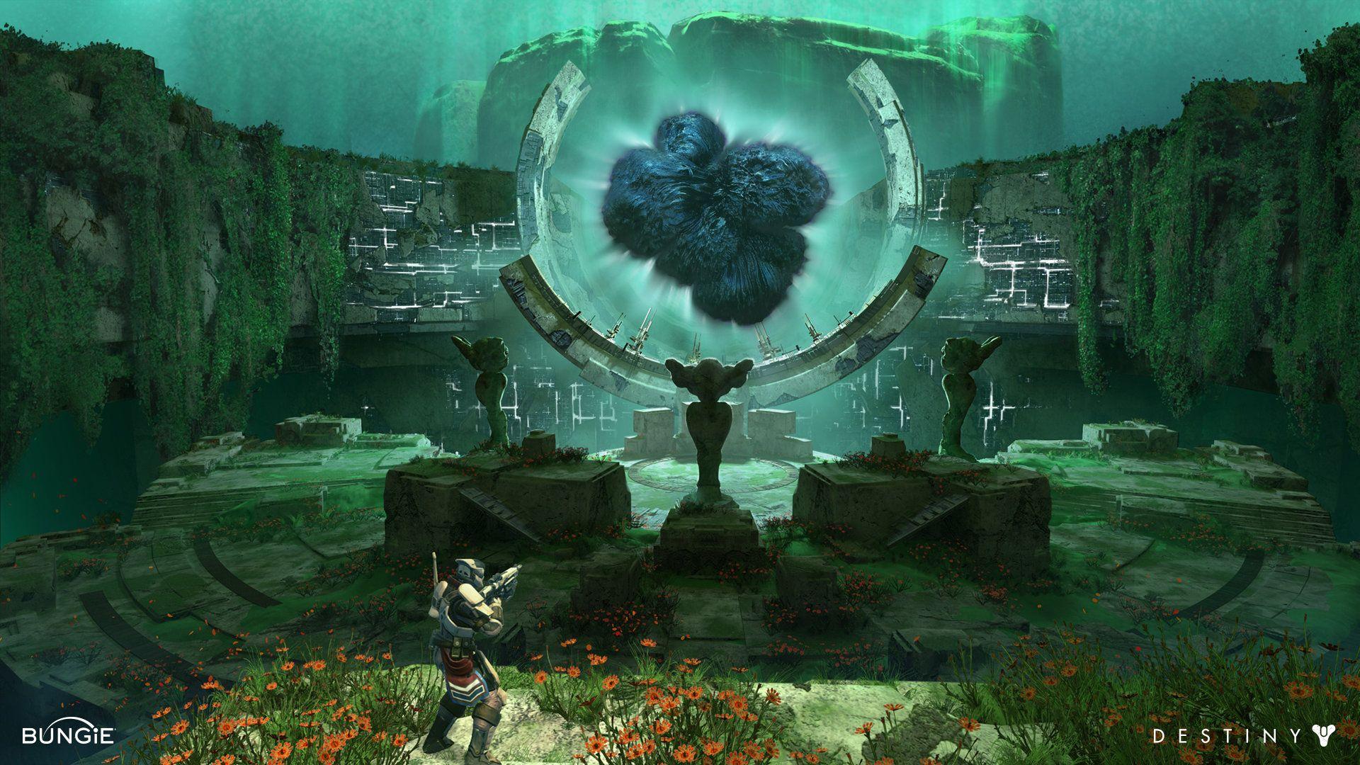 ArtStation Destiny Heart of the Black Garden, Dorje