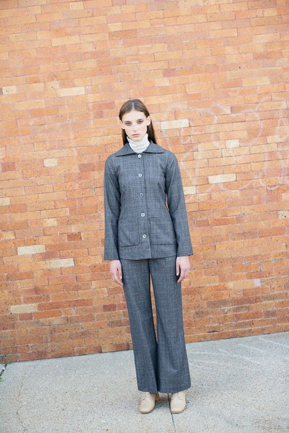 Maryan Nassir Zadeh - Grey Plaid Clara Suit Jacket | BONA DRAG