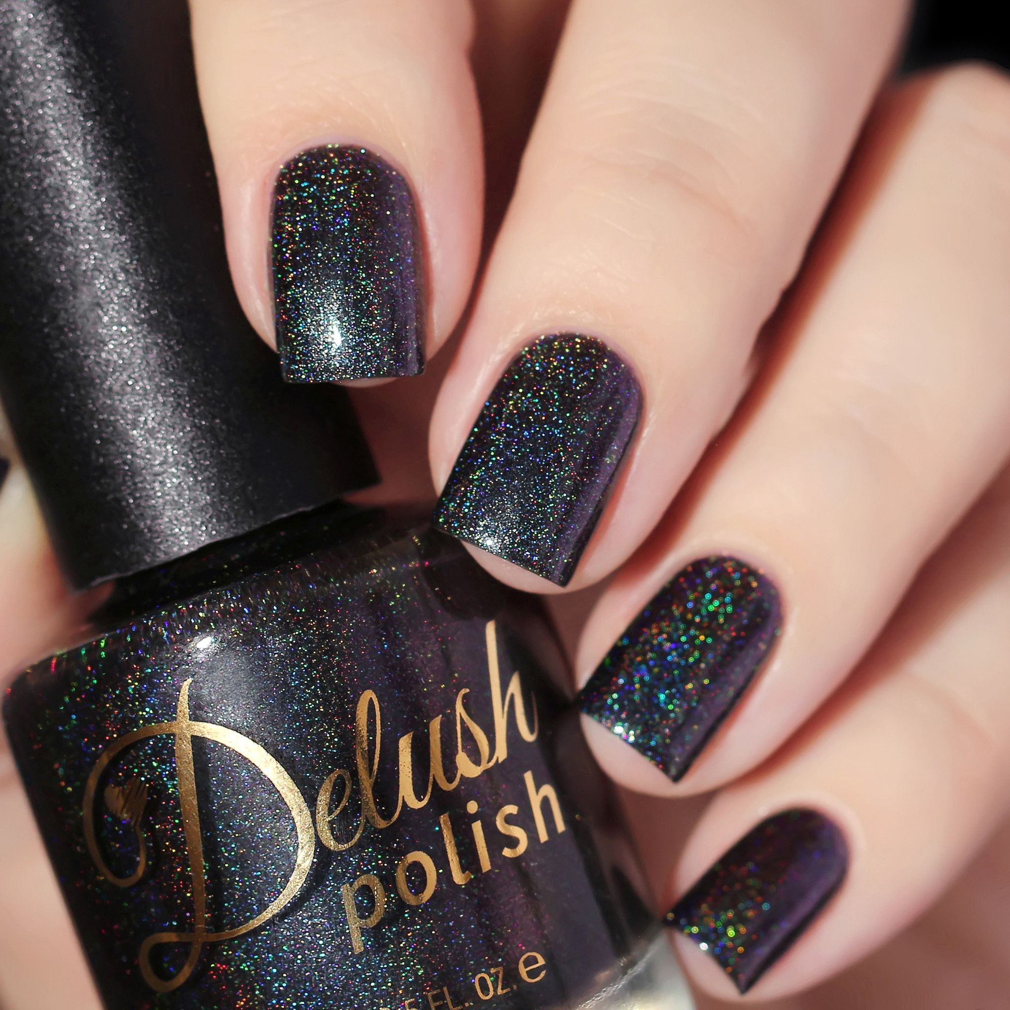 Warden of Darkness | Swatch, Darkness and Holographic nail polish