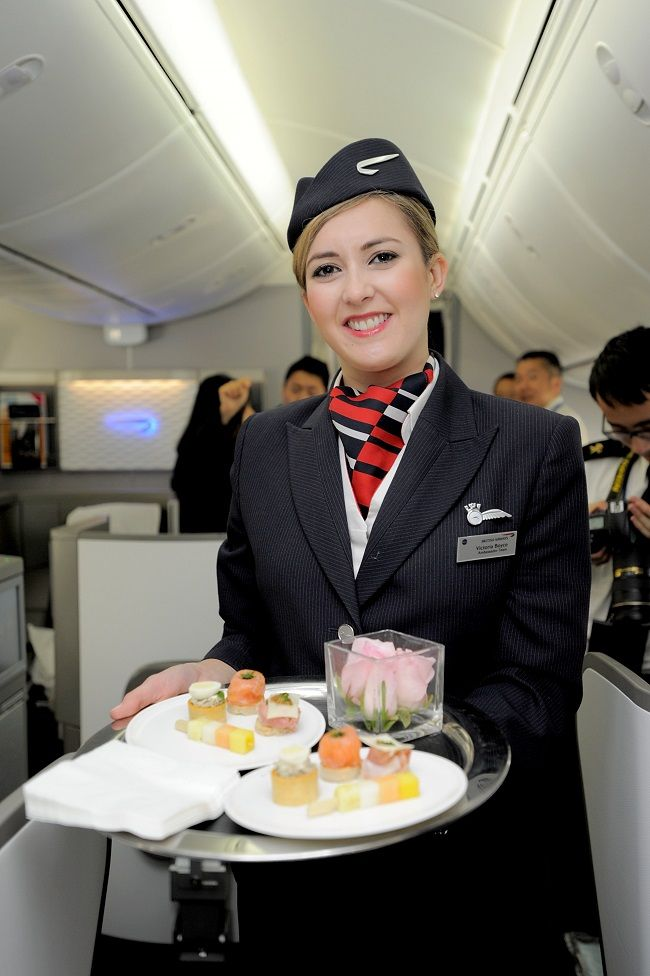 Cabin crew staff and new entrants working on short and long-haul