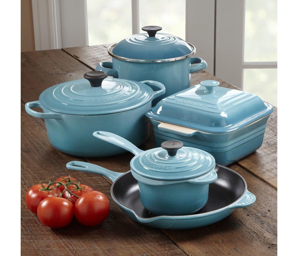 shop le creuset cookware set 9 piece at chefs wants. Black Bedroom Furniture Sets. Home Design Ideas