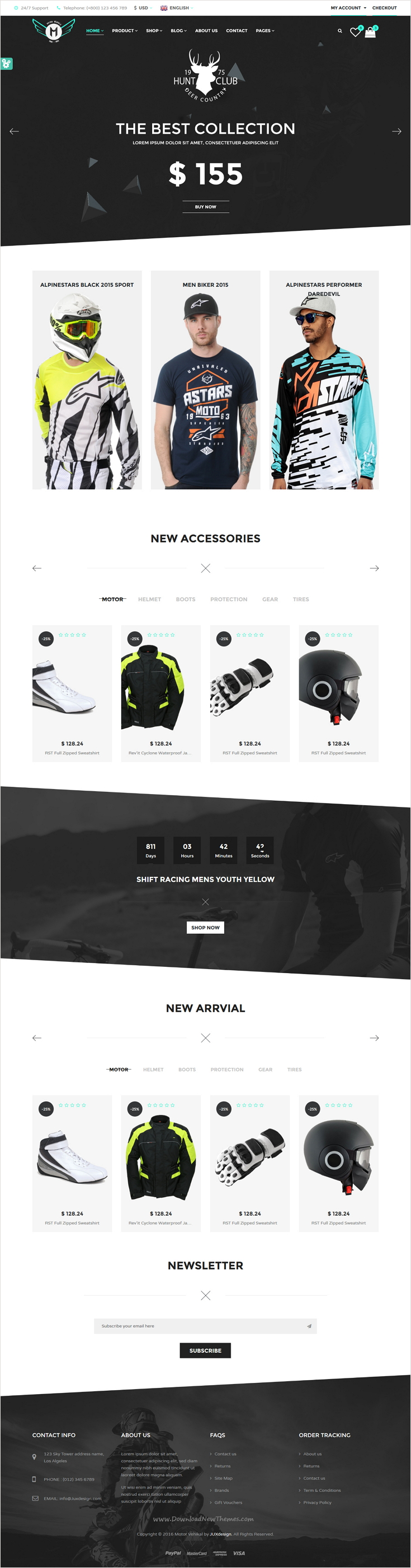 Motor vehikal is perfect 8 in 1 #HTML #theme for Motorcycle #stores ...