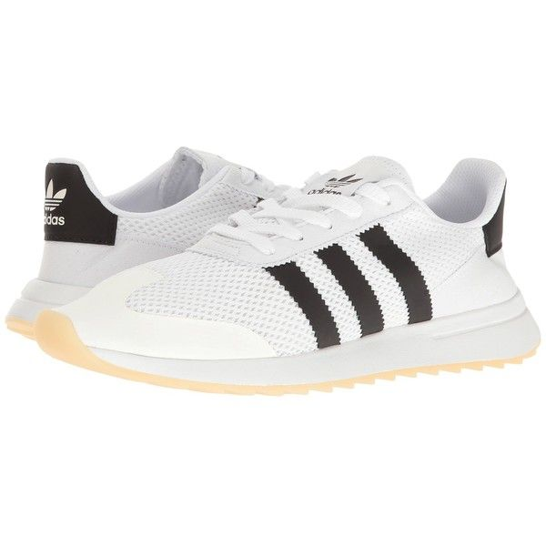 cd8ce1042 adidas Originals Flashback (White Black) Women s Running Shoes ( 85) ❤ liked  on Polyvore featuring shoes