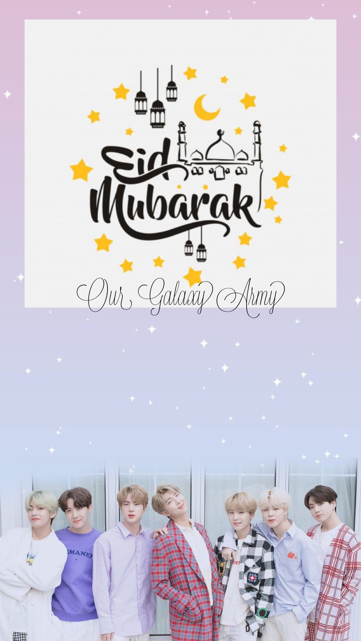 Another Day Another Wallpaper Today I Will Drop E Card Raya E Kad Raya For Muslim All Over The World Eidwithluv Armymusl Bts Wallpaper Wallpaper Cards