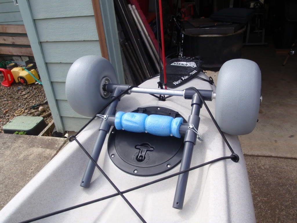 larry chair kayak covers for sale durban d i y scupper cart hobie pinterest accessories