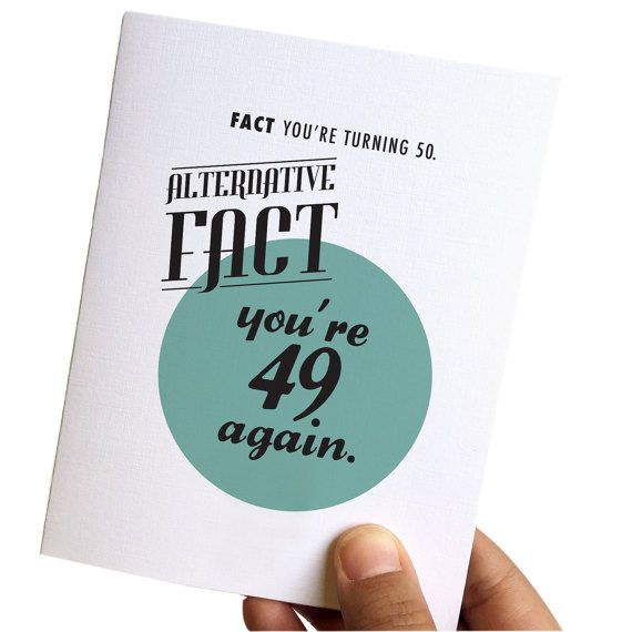50th birthday card 50th birthday card for her 50th birthday 50th birthday card 50th birthday card for her 50th birthday card for him funny birthday cards alternative facts bookmarktalkfo Gallery