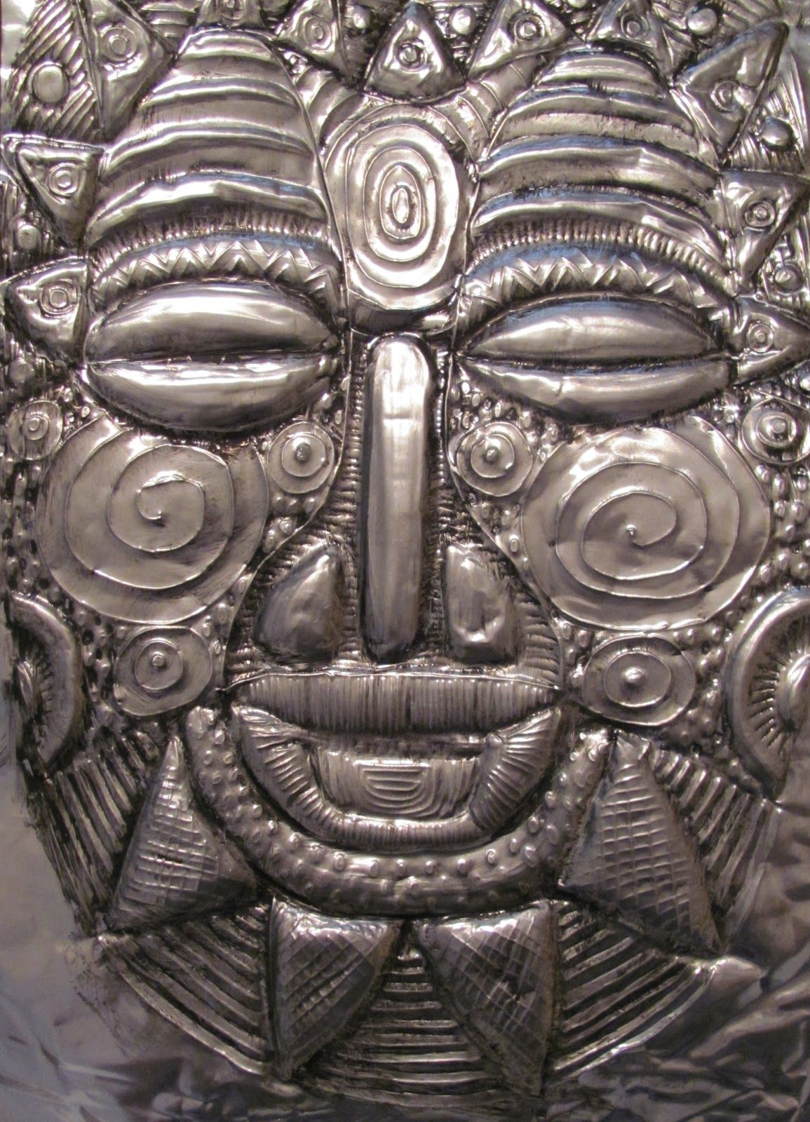 The Chocolate Muffin Tree: How to Create a Metal Tooling Mask - Texture
