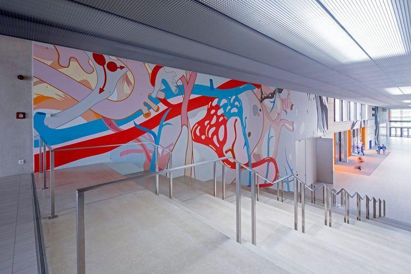 Schönes Kunst Projekt In Luxemburger Schule Http://www.malerische Wohnideen